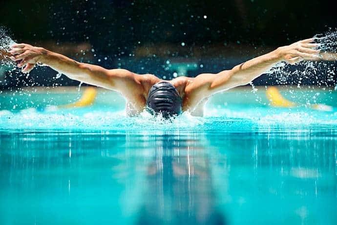 چک لیست استارت شنای پروانه