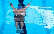 دريل زواياي دست در شناي قورباغه