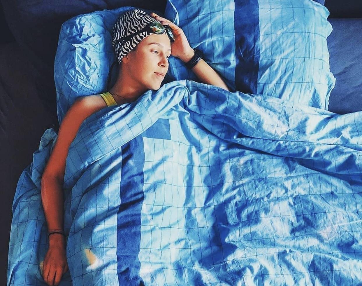 5 دانستنی جالب درباره شناگران و خواب